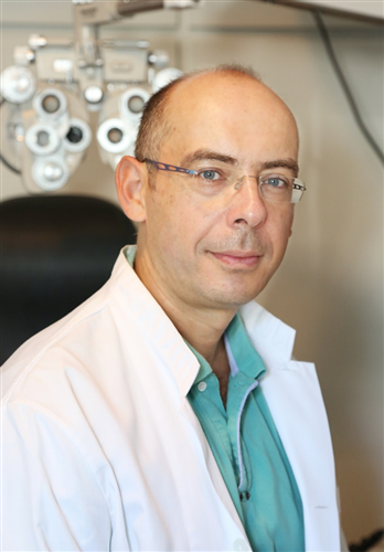 O Ophthalmologist Ntousis Georgios