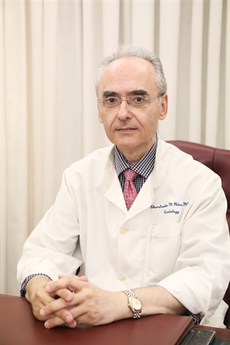O Cardiologist Petras Haralampos  MD, PHD