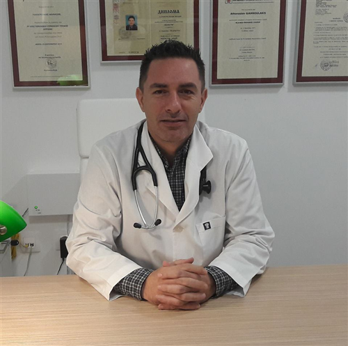 O General practitioner (GP) Giannoulakis THanos
