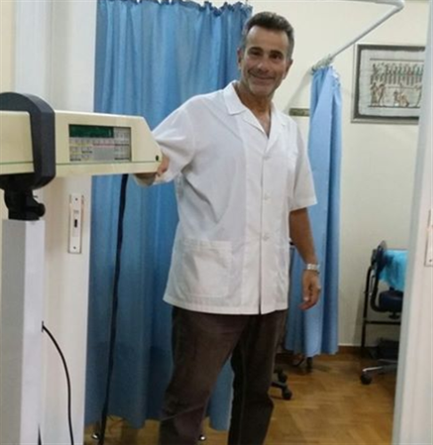 O Physiotherapist Kanellopoulos Georgios